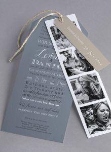invitation 3 219x300 - Save the date, invitations, thank you cards and stationery: we give you the best ideas!
