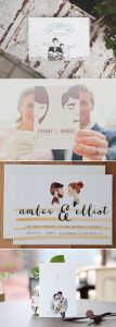 invitation 5 107x300 - Save the date, invitations, thank you cards and stationery: we give you the best ideas!