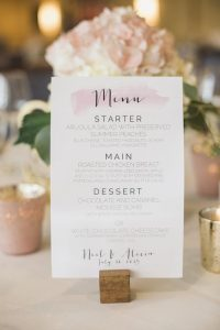 menu 2 200x300 - Save the date, invitations, thank you cards and stationery: we give you the best ideas!