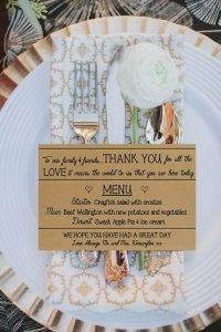 menu 4 200x300 - Save the date, invitations, thank you cards and stationery: we give you the best ideas!