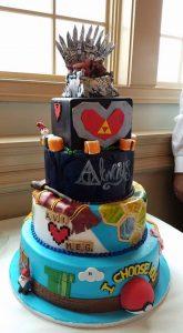99b094df41fb93e70a8fcb3cfb771a26 165x300 - Le célèbre gâteau des mariés ... une tradition?