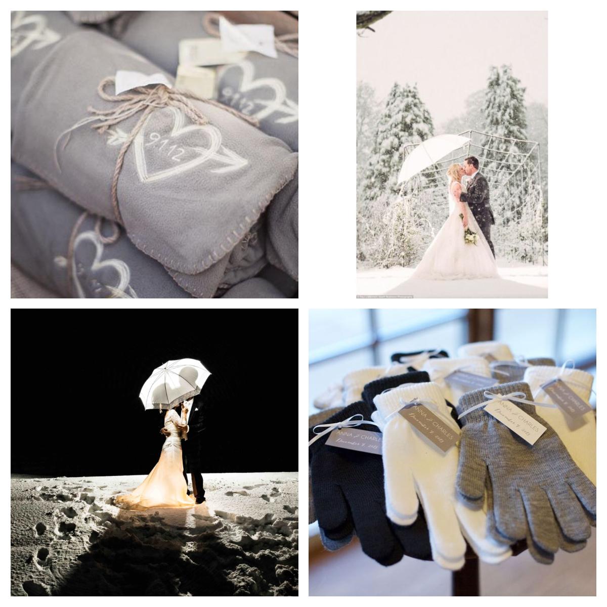 Montage 4 - En hiver - Parez votre mariage de féerie !