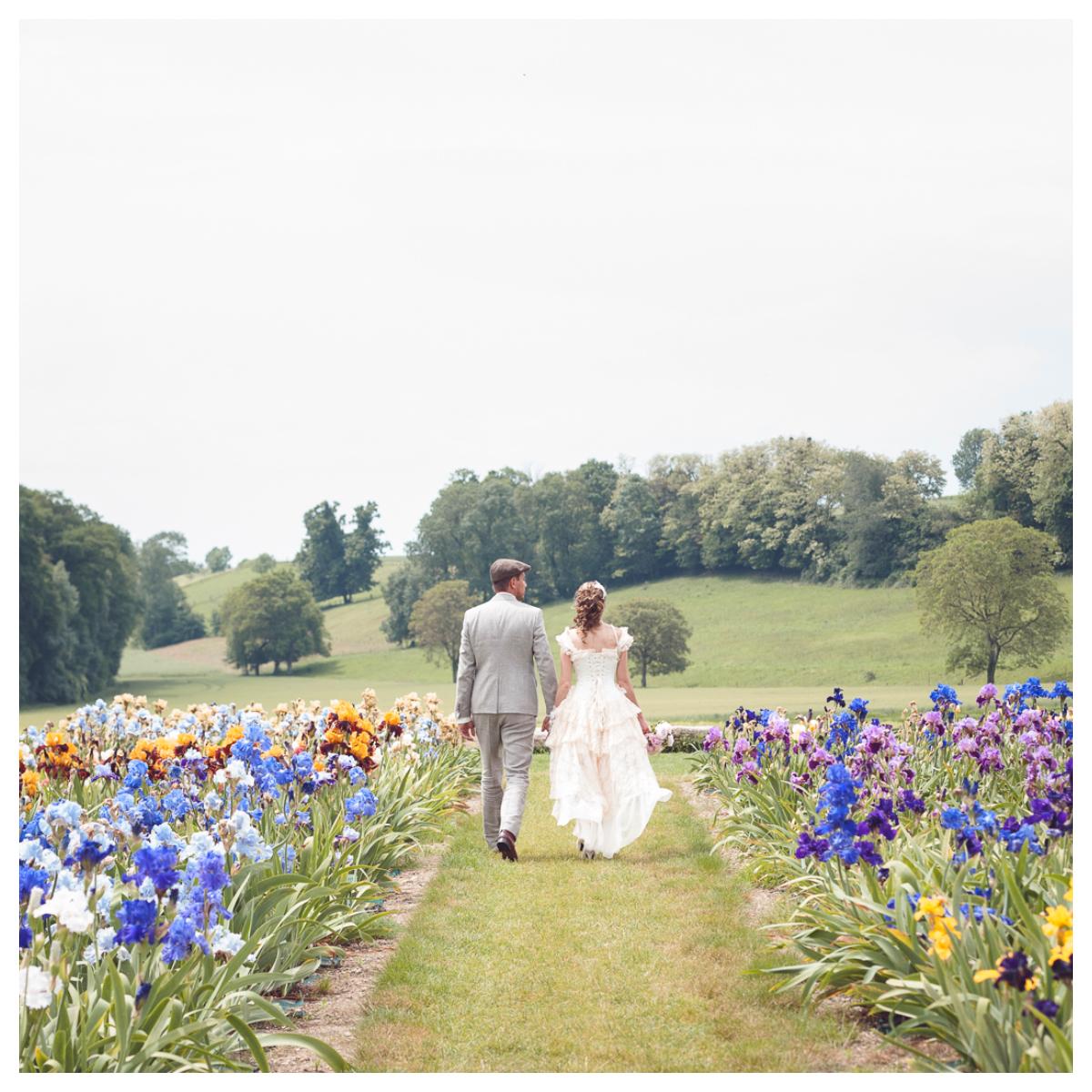 """1 - Le mariage """"Belle Epoque"""" de A&C aux Portes des Iris"""