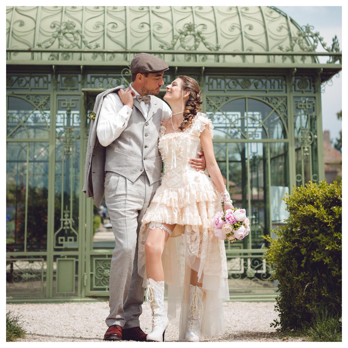 """6 - Le mariage """"Belle Epoque"""" de A&C aux Portes des Iris"""