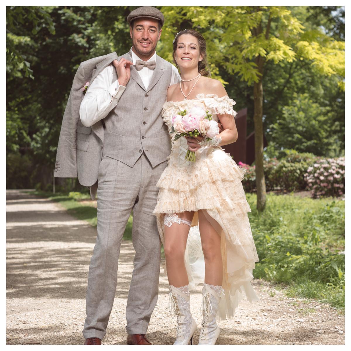"""7 - Le mariage """"Belle Epoque"""" de A&C aux Portes des Iris"""