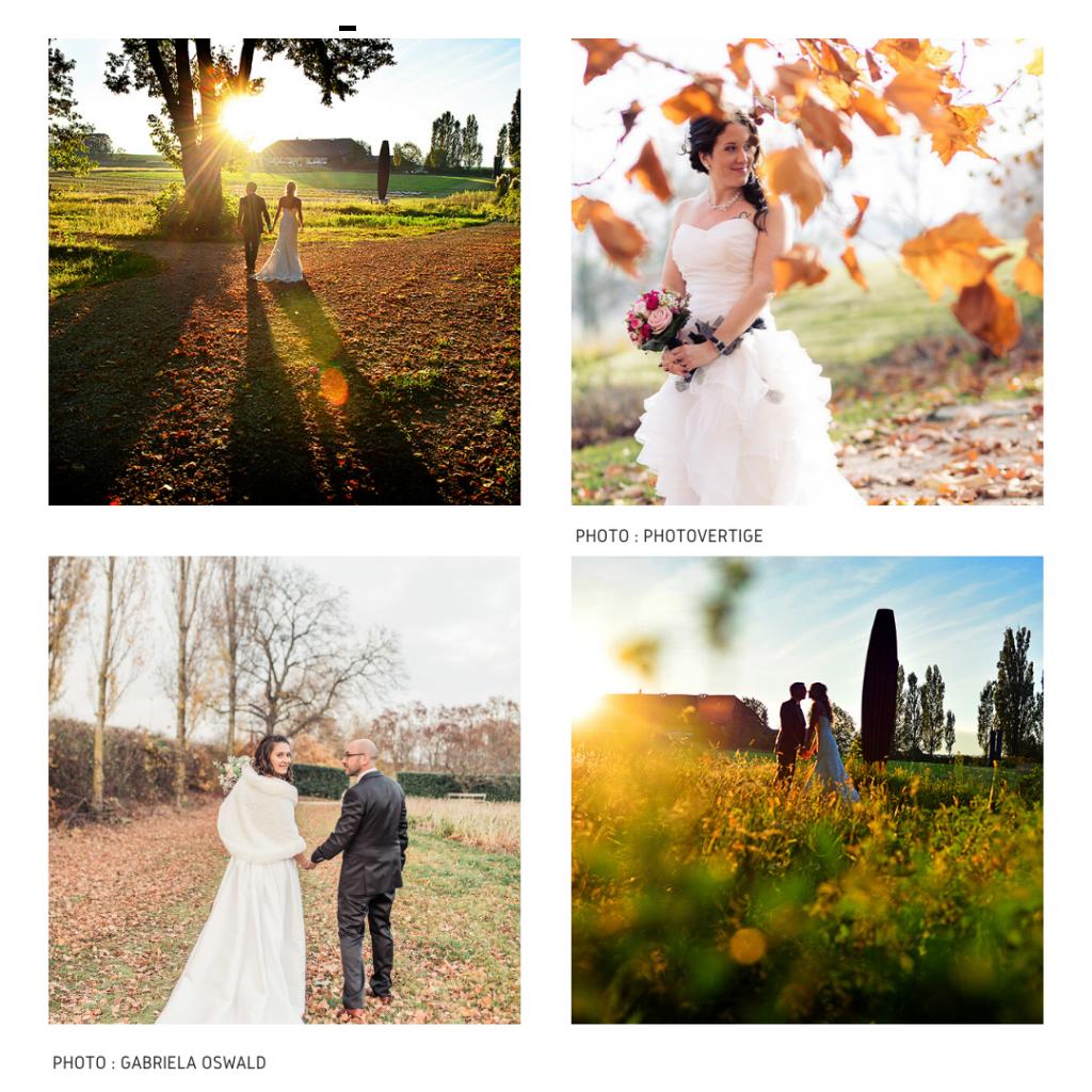 Mariés jardin   1024x1024 - En automne - Parez votre mariage de doré